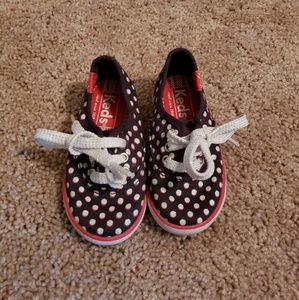 80e1c8f63d7ff5 Keds Shoes - Little Girl Polka Dot Lace Up Keds